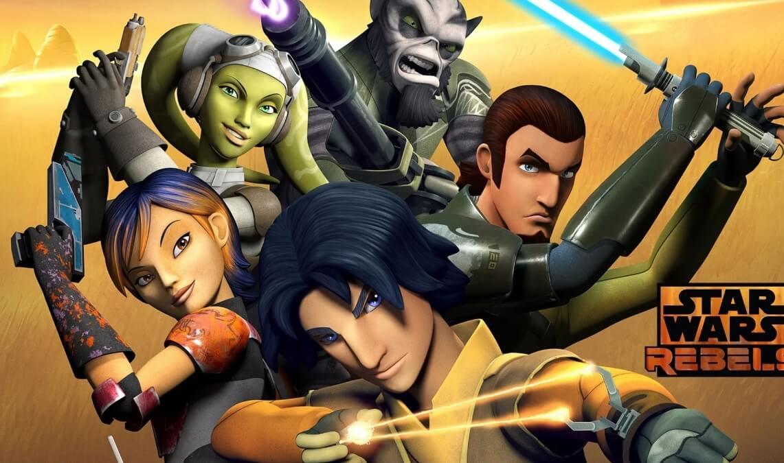 Сериал Звездные войны: Повстанцы