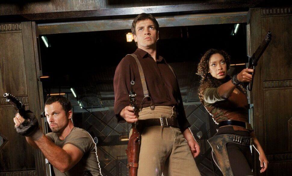 главные герои в сериале Firefly