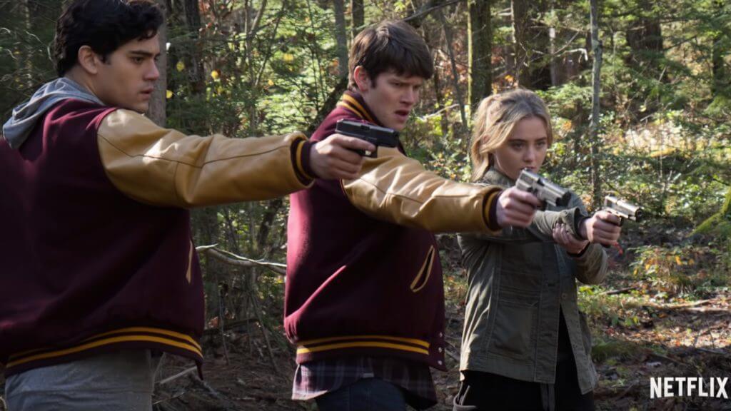 Сериал Общество: подростки строят коммунизм на Netflix