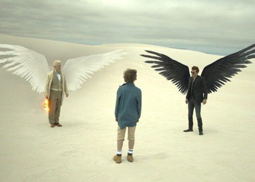 ангел и демон спасают ребенка