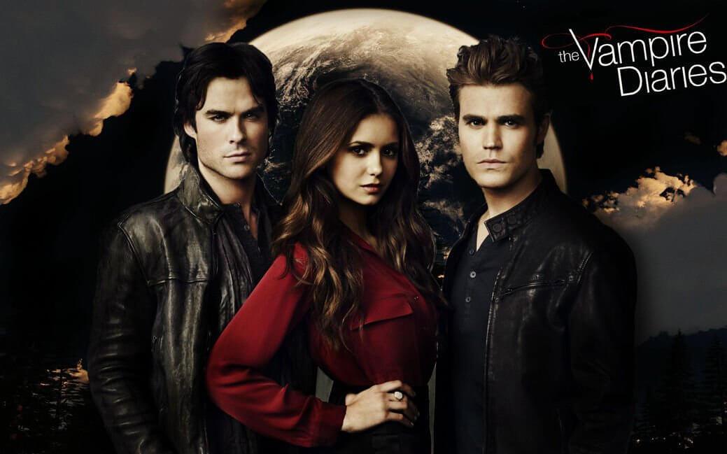 Сериал Дневники вампира постер 2020