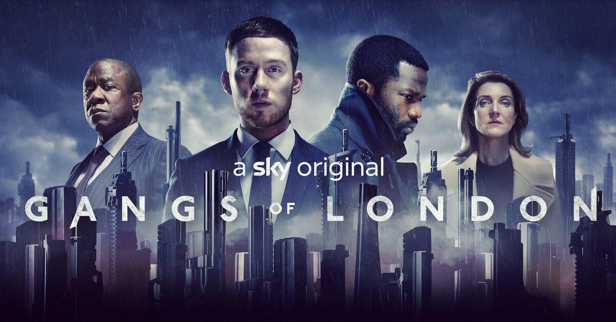 Сериал Банды Лондона постер 2020