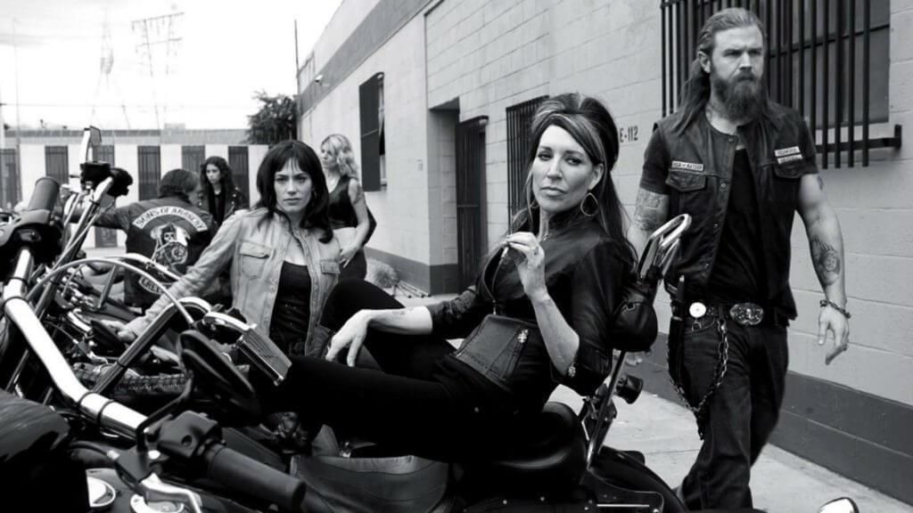 Телешоу Сыны Анархии Biker Harley-Davidson Leather