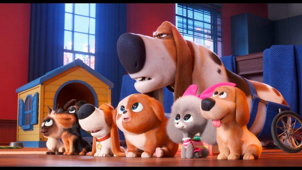 милые животные в мультфильме