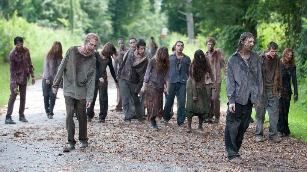 ходячие мертвецы зомби в сериале черное лето